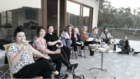The Movers and Shapers : Natalya Shiin, Kath Cowen, Belinda Street, Louisa Chircop, Charmaine Pike, Sally Stokes, Joanna Cole, Brooke Thompson, Filiipa Buttita