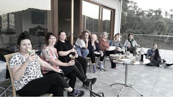 The Movers and Shapers : Natalya Shiin, Kath Cowen, Belinda Street, Louisa Chircop, Charmaine Pike, Sally Stokes, Joanna Cole, Brooke Thompson, Filiipa Buttita