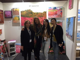 Joanna Cole and fellow artists