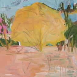 Yellow Tree, 30x30cm