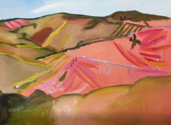 SOLD Seven Hills, 55x45cm, $970